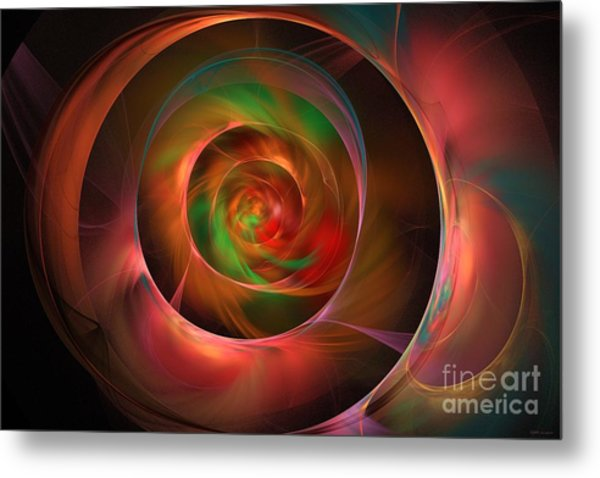 A Kind Of Inner Opalescence Metal Print