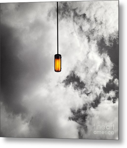 A Light That Never Goes Out Metal Print by Claudia Newman