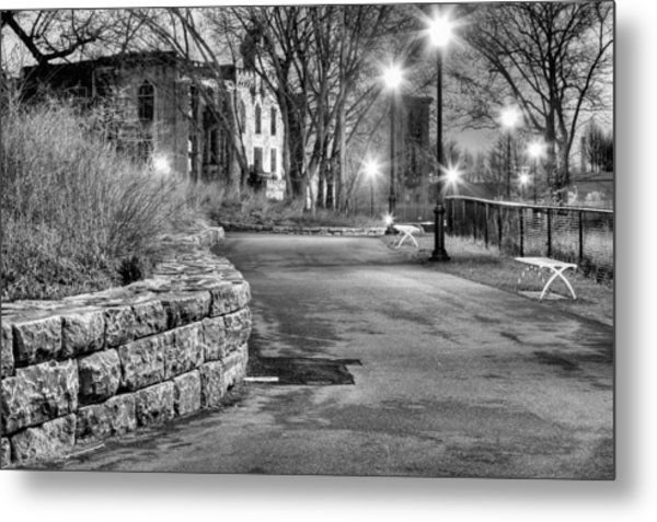 A Lonely Night Metal Print