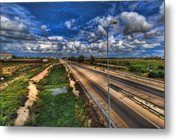 a majestic springtime in Israel Metal Print