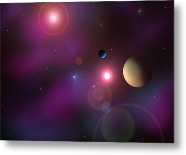 A Million Light Years Metal Print by Ricky Haug