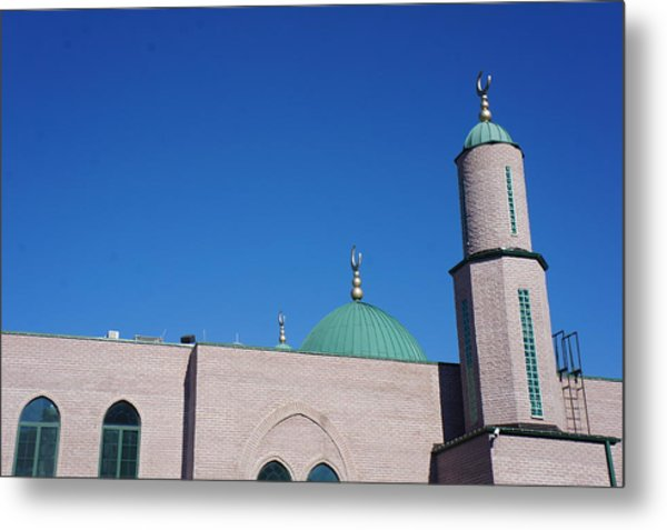 Metal Print featuring the photograph A Mosque by Artistic Panda