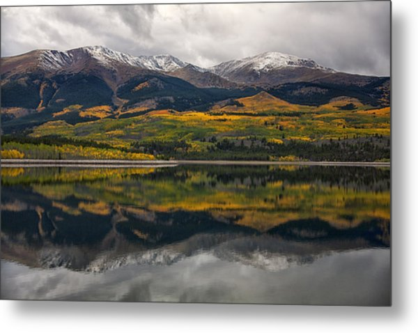 A Mt. Elbert Fall Metal Print