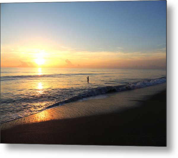 A New Day Begins Metal Print