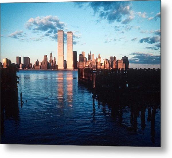 New York Sunset 1978 Metal Print