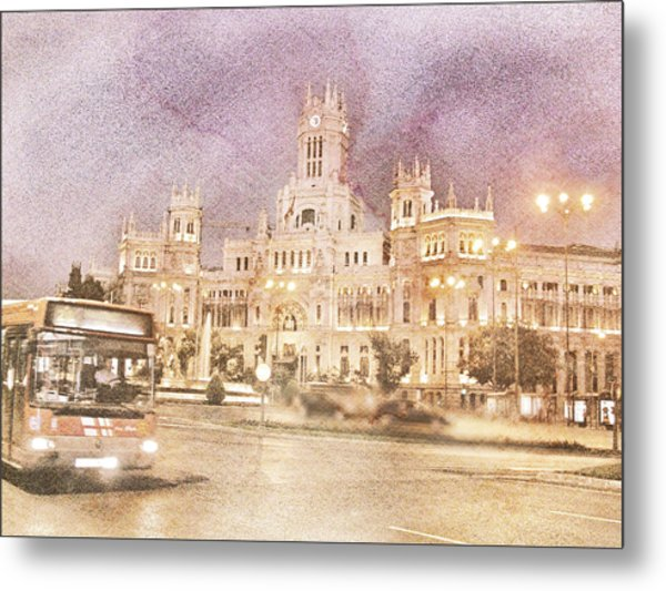 A Night In Madrid  Metal Print
