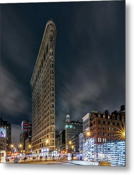 A Night In Nyc Metal Print