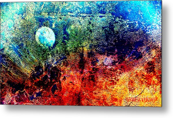 A Night Sky Metal Print by Currie Silver