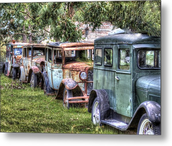 A Parade From The Past Metal Print by Danny Pickens