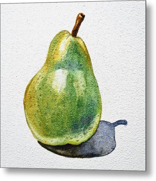 A Pear Metal Print