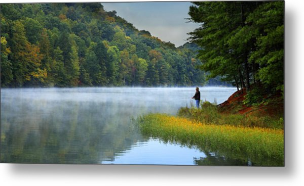 A Perfect Morning Metal Print