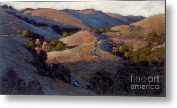 A Pinking Of The Hills Metal Print