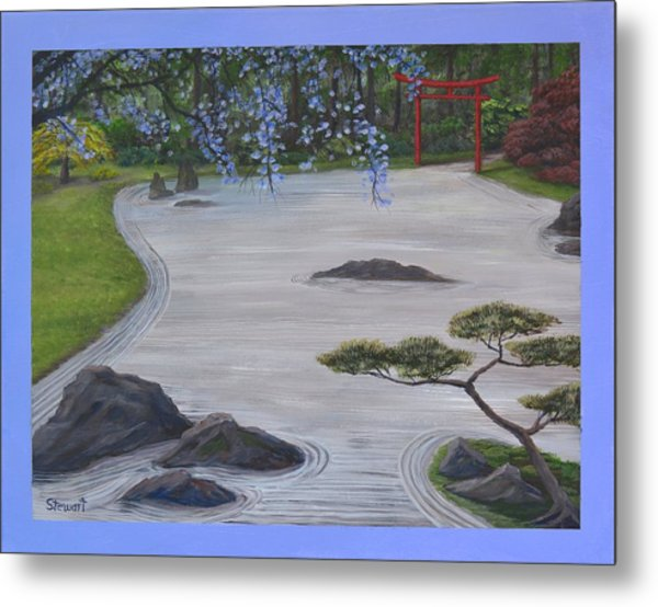 A Place Of Meditation Metal Print