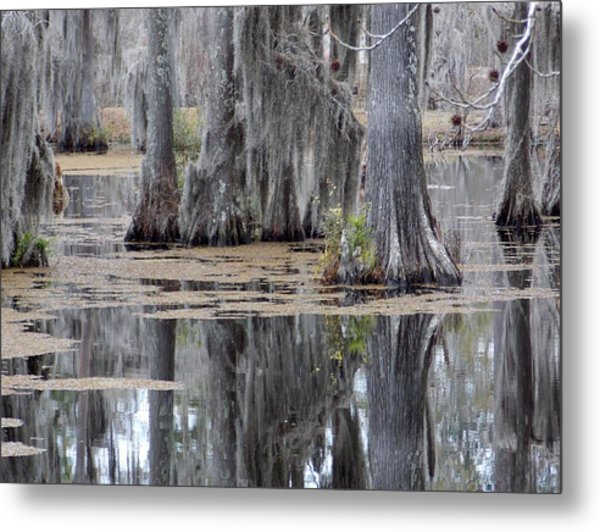 A Place To Sit And Listen Metal Print