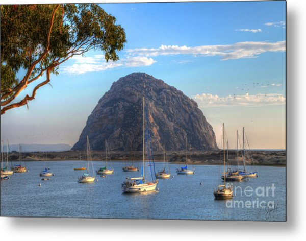 A Pleasant Day In Morro Bay Metal Print