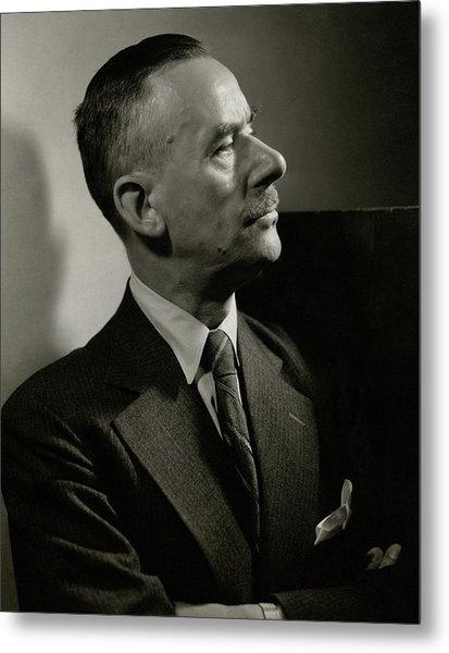 A Portrait Of Thomas Mann Metal Print by Edward Steichen