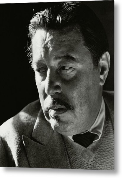A Portrait Of Warner Oland Metal Print by Imogen Cunningham