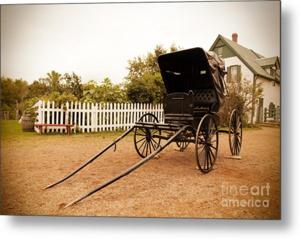 A Return To Yesteryear Metal Print
