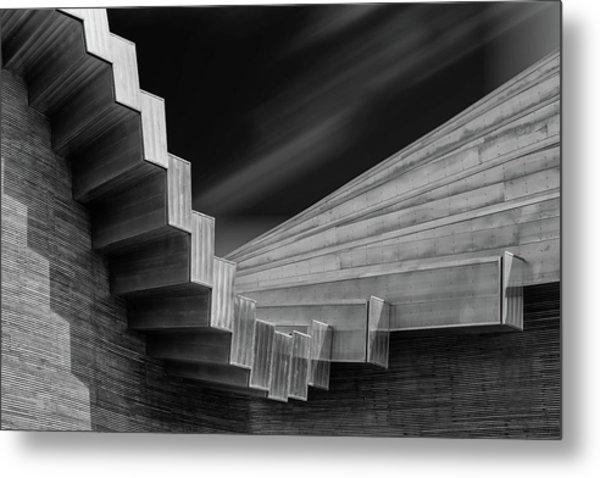 A Roof By Calatrava Metal Print