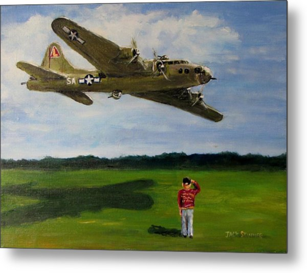A Salute To The Greatest Generation Metal Print
