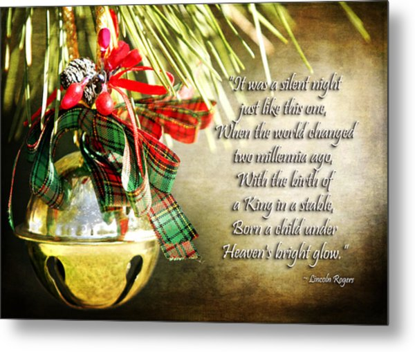 A Silent Night Like This One Metal Print