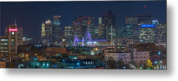 A Somerville View Metal Print