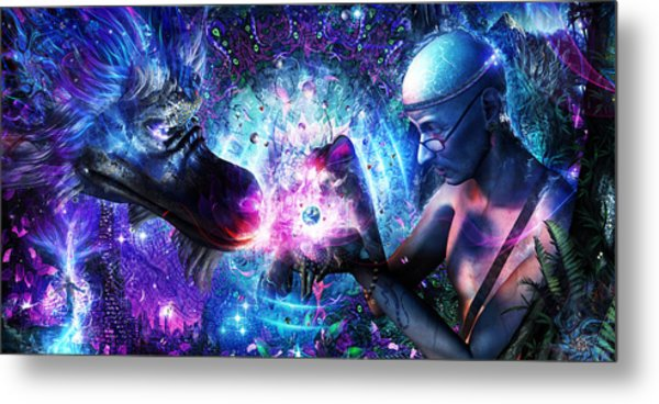 A Spirit's Silent Cry Metal Print by Cameron Gray