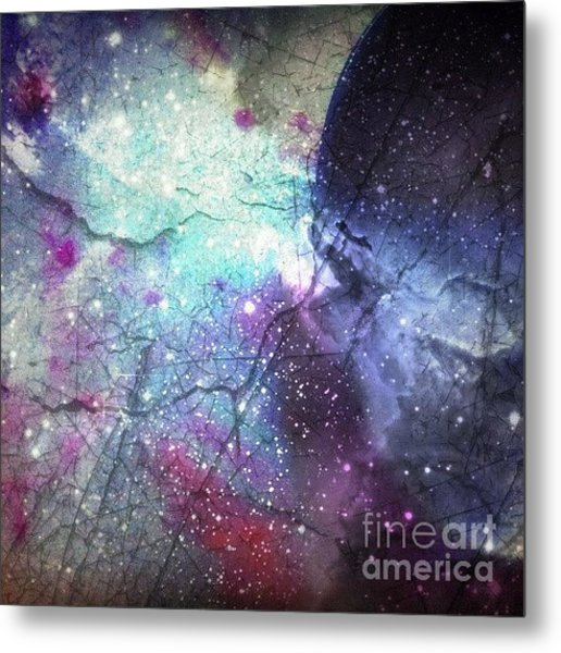A Spoon #phoneart #abstract Metal Print