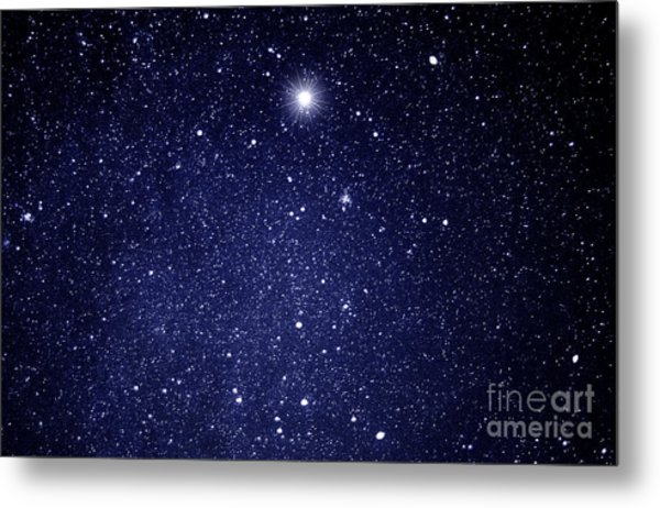 A Star Appeared In The East... Metal Print