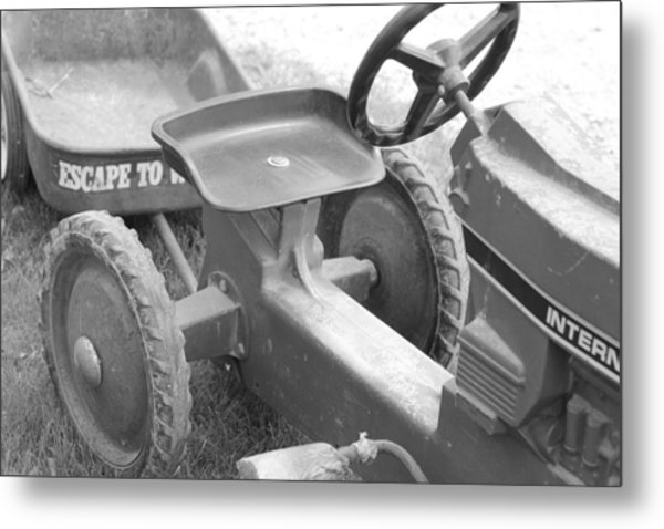 A Step Back In Time Metal Print by Sarah Klessig