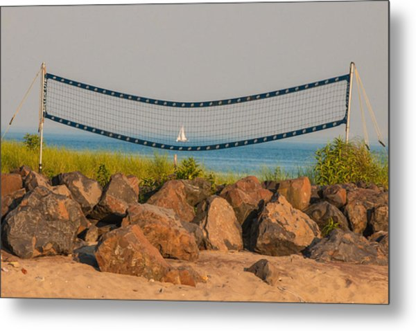 A Summers End Metal Print