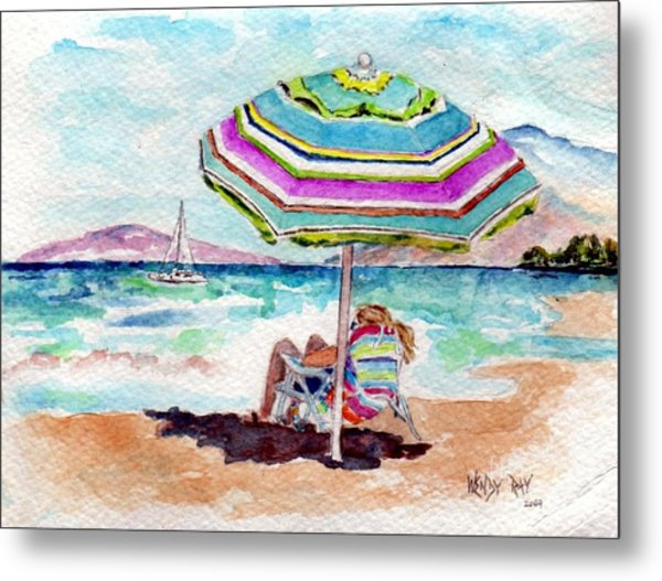 A Sweet Day In Maui Metal Print