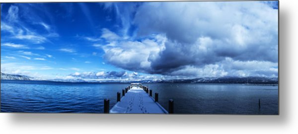 A Tahoe Winters Dream Metal Print