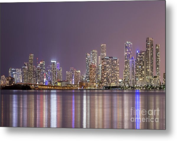 A Thousand Lights In The City Metal Print