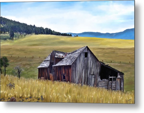 A Time In Montana Metal Print