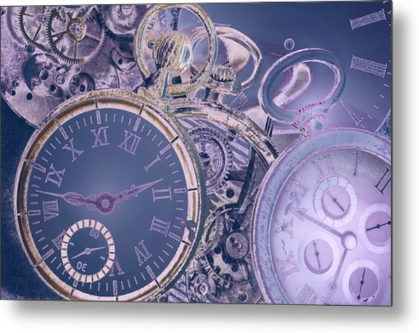 A Time Of Memories A Time Of Forgetting  Metal Print