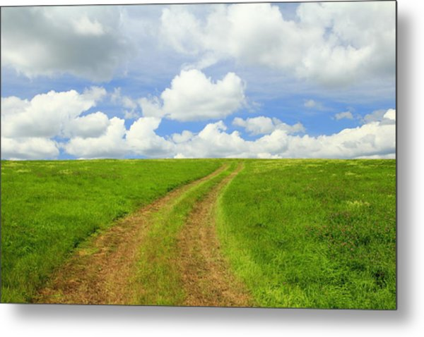 A Trail To The Horizon Metal Print