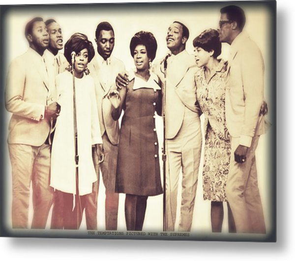 Motown Harmony Metal Print