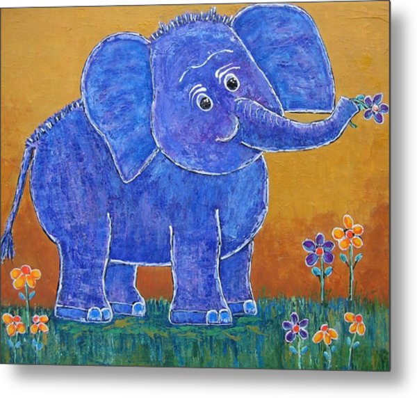 A Very Happy Day Metal Print