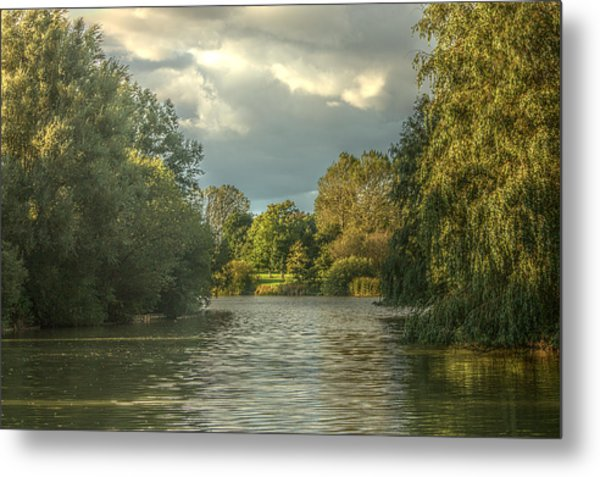 A View Down The Lake Metal Print