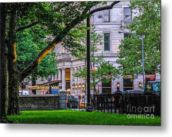A View From Central Park Metal Print