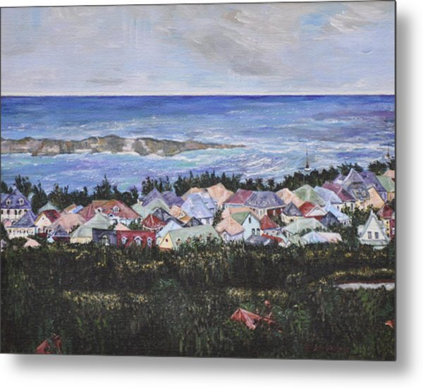A View Of Orient Bay Metal Print