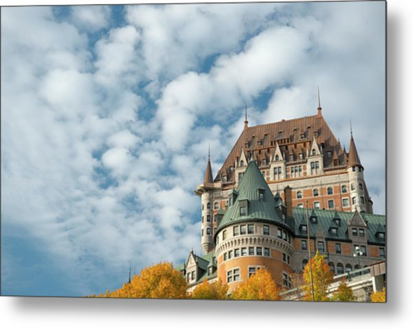A View Of The Chateau Frontenac, Quebec Metal Print