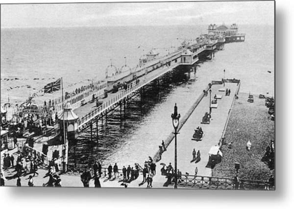 A View Of The Marine Palace  Pier Metal Print