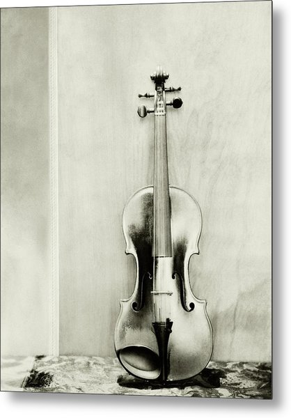 A Violin Metal Print