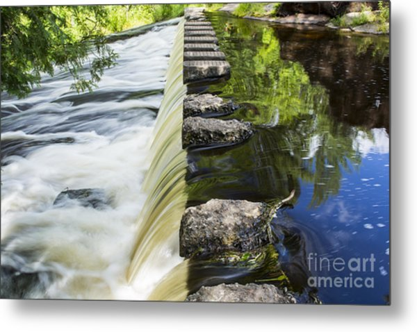 A Walk Of Life... Metal Print