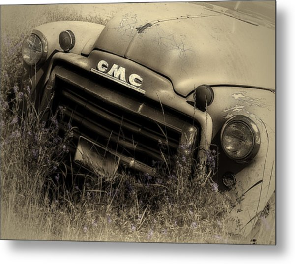 A Weather-beaten Classic Metal Print