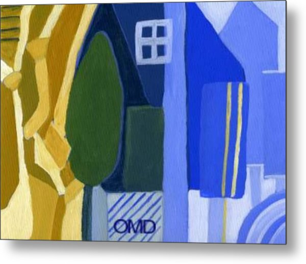 A Window Among Trees Metal Print by Olivia  M Dickerson