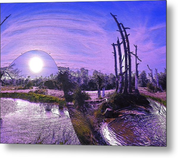 A World Within A World  Metal Print