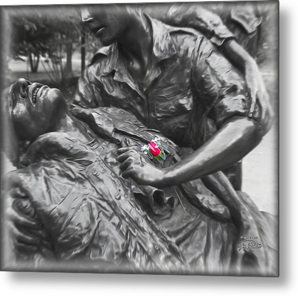 A Wounded Nation Metal Print